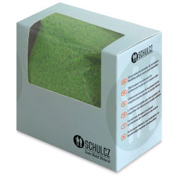 Schulcz Scale Model Foliage - Sponge Flock, Light Green, 50 g (front of box)