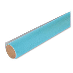 Lineco Book Cloth - 17'' x 19'', Turquoise, Rolled Sheet
