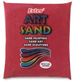 Colored Sand - 2 lb, Red