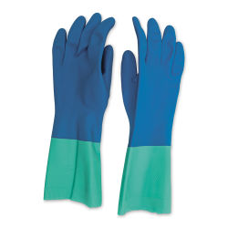 Nitrile Rubber Gloves - 1 Pair, Small