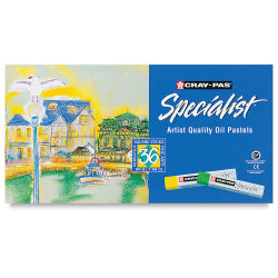 Specialist Oil Pastels, Set of 36