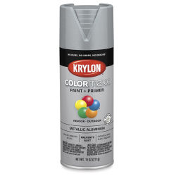 Krylon Colormaxx Spray Paint - Aluminum, Metallic, 11 oz