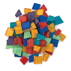 Crafter's Cut Pre-Cut Mosaic Assortment - Basic Assortment, 8 oz