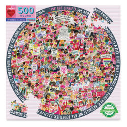 Women's March 500 Piece Puzzle Box