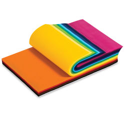 Smart-Fab Fabric - Sheets, 9'' x 12'', Pkg of 270, Assorted Colors