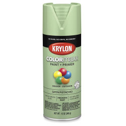 Krylon Colormaxx Spray Paint - Pistachio, Satin, 12 oz