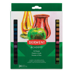Derwent Academy Oil Pastels - Set of 24