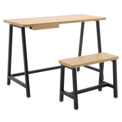 Studio Designs Ashwood Homeroom Desk and Bench