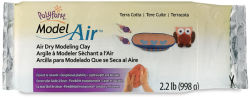 Polyform Model Air Air Dry Clay - Terra Cotta, 2.2 lb