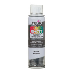 Tulip ColorShot Instant Fabric Color Spray - White