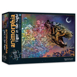 Animorphia Tiger in the Night 1,000 Piece Puzzle, Box