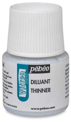 Pebeo Vitrea 160 Thinner - 45 ml bottle