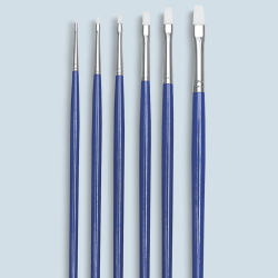 Wonder White Bright Brushes, Set of 6, Long Handle