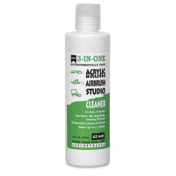 EZ Air 3-In-One Cleaner - Acrylic/Airbrush/Studio Cleaner, 8 oz