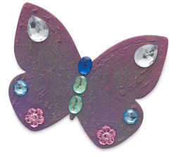 Butterflies, Pkg of 3