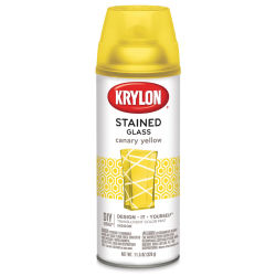 Krylon Stained Glass Paint - 11.5 oz Can, Canary Yellow