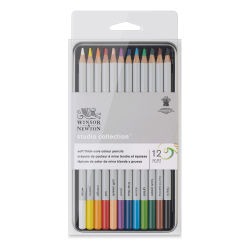 Winsor & Newton Studio Collection Colored Pencils - Set of 12