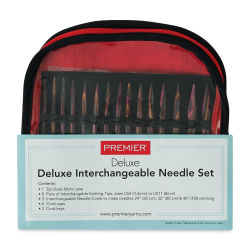 Premier Yarn Deluxe Birchwood Interchangeable Knitting Needle Set