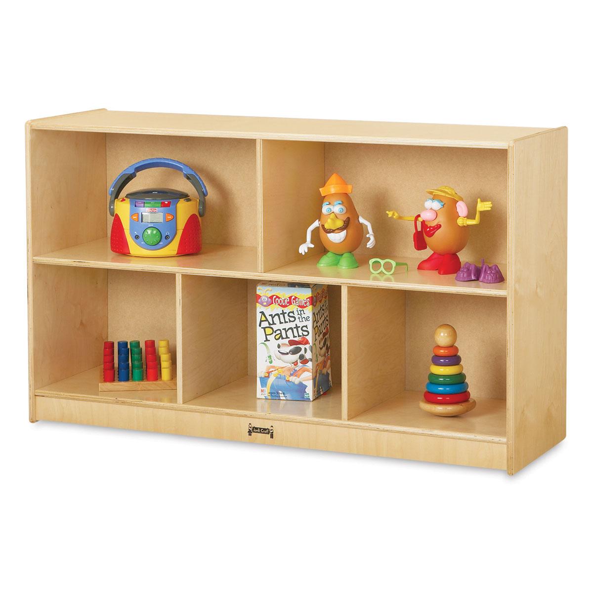 Jonti-Craft Mobile Storage Cabinet - Low Single