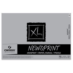 Canson XL Newsprint Pad - 24'' x 36'', 100 Sheets