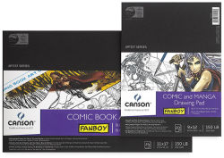 Canson Fanboy Comic Manga Papers Assorted Sizes