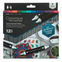 Spectrum Noir Classique Markers - Jewels, Set of 12