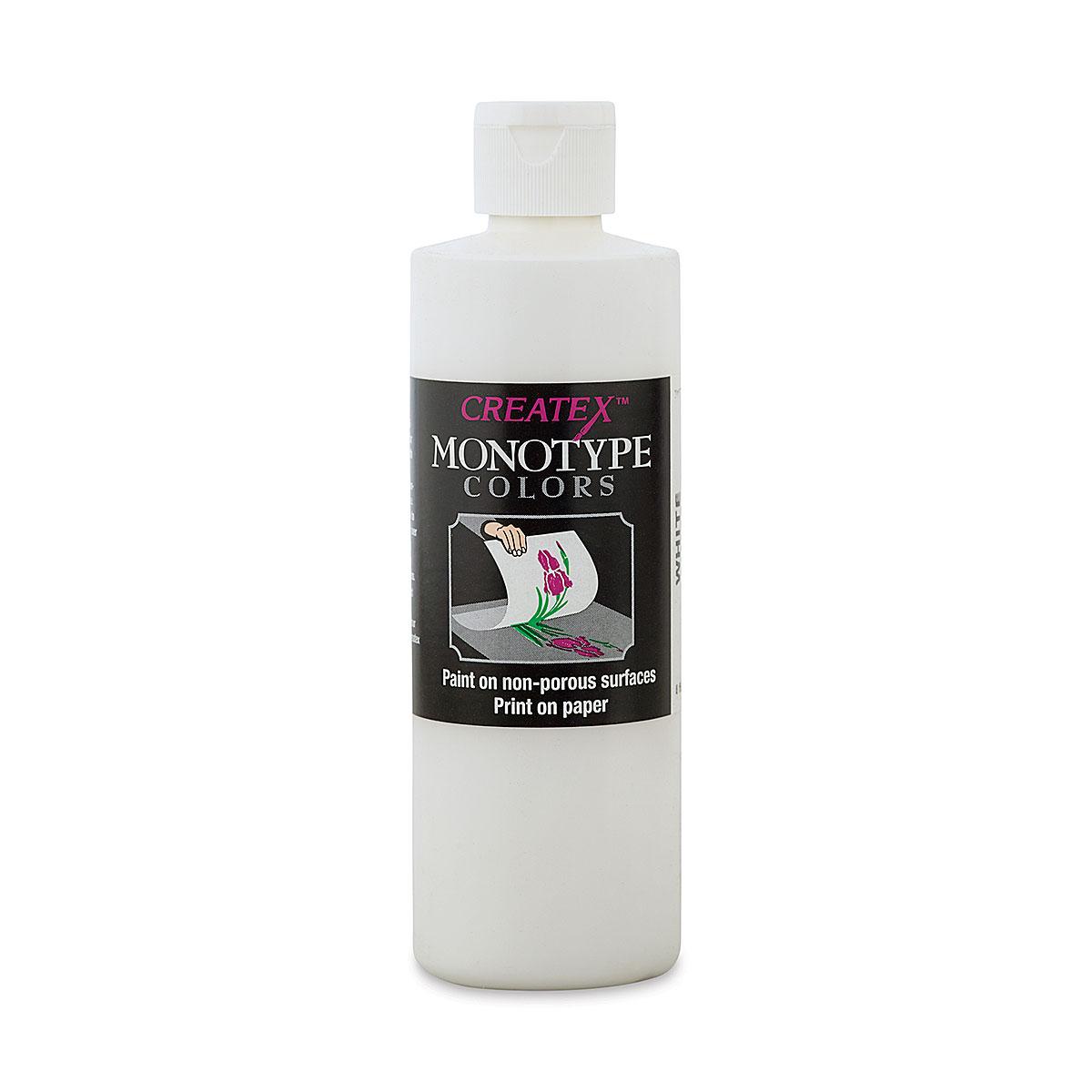 Createx Monotype Colors - White, 8 oz bottle