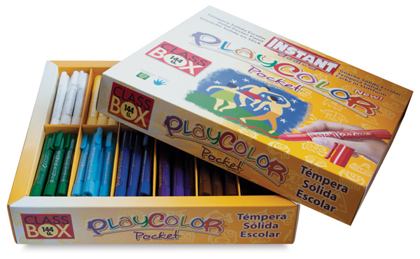 Playcolor - Standard Colors, Set of 144, Pocket Sized