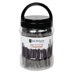 Willow Charcoal - Medium Sticks, Canister of 144 Sticks