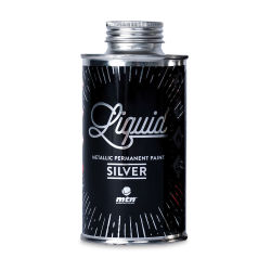 MTN Liquid Metallic Paint - Silver, 200 ml