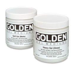 Golden Acrylic Polymer Varnish - Gloss, 16 oz bottle