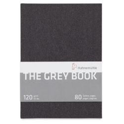Hahnemühle The Grey Book - 8-1/4'' x 5-3/4'', 40 Sheets