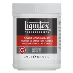 Liquitex Medium - Flexible Modeling Paste - 16 oz jar
