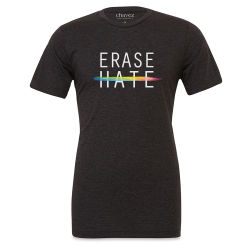 Chavez for Charity Erase Hate T-shirt - Medium