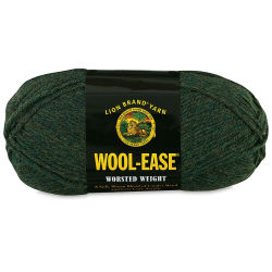 Lion Brand Wool-Ease Yarn - Forest Heather