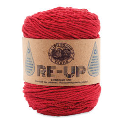 Lion Brand Re-Up Yarn - Red