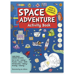 Space Adventure Activity Book cover