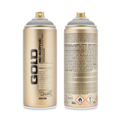 Montana Gold Acrylic Professional Spray Paint - Iron Curtian, 400 ml can