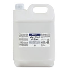 Vallejo Acrylic Fluid Medium - Matte, 5 Liter