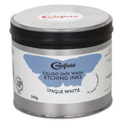 Caligo Safe Wash Etching Ink - Opaque White, 500 g Can