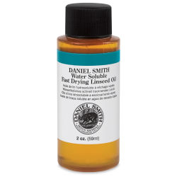 Daniel Smith Water-Soluble Oil Medium - Fast Drying Linseed Oil, 2 oz
