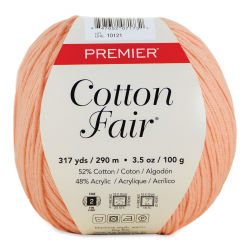 Premier Yarn Cotton Fair Yarn - Coral