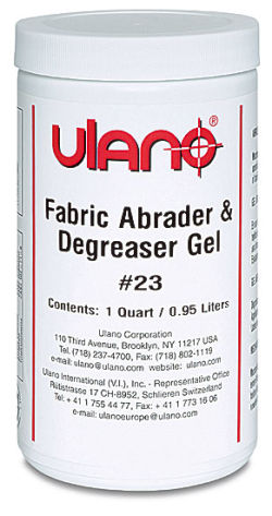 Ulanogel No. 23 Fabric Abrader and Degreaser - Quart