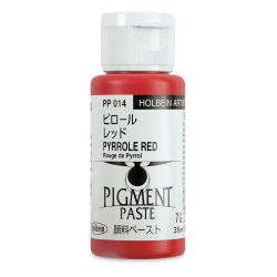 Holbein Tosai Pigment Paste - Pyrrole Red, 35 ml