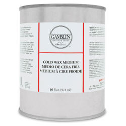 Gamblin Cold Wax Medium - 16 oz can