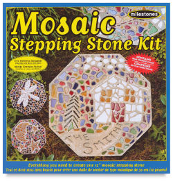 Mosaic Stepping Stone Kit