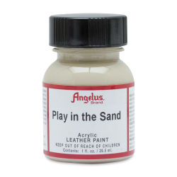 Angelus Acrylic Leather Paint - Play in the Sand, 1 oz, Bottle