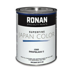 Ronan Superfine Japan Color - Drop Black C, Quart