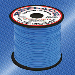 Rexlace - 100 yards, Neon Blue