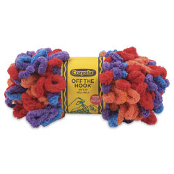Lion Brand Crayola Off The Hook Yarn - Motley